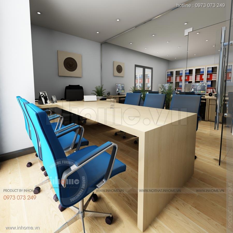 Thiết kế nội thất văn phòng công ty Nam Phát 06