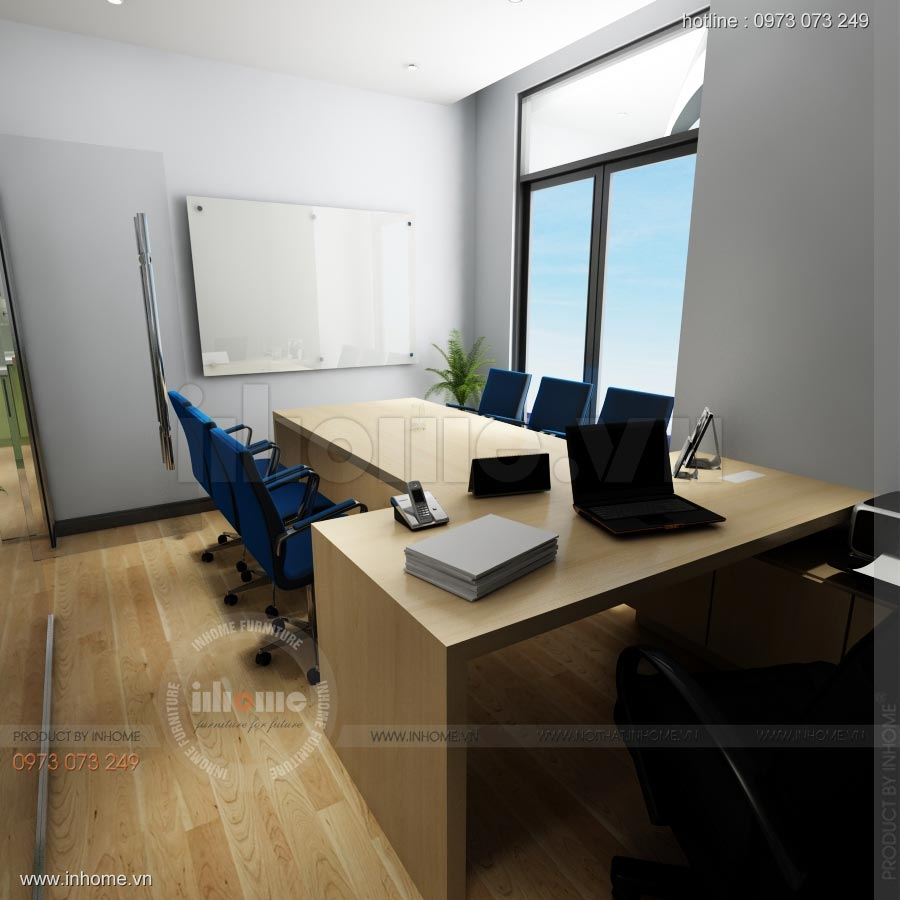 Thiết kế nội thất văn phòng công ty Nam Phát 07