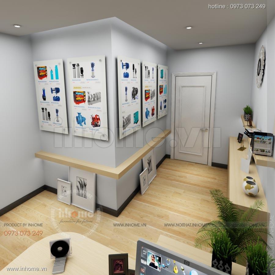 Thiết kế nội thất văn phòng công ty Nam Phát 09