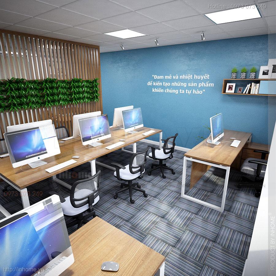 Thiết kế nội thất văn phòng số 9 Đinh Liệt 01