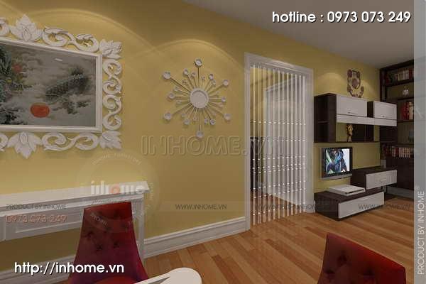 Thiết kế nội thất chung cư Láng Hạ 06