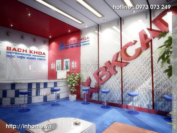 Thiết kế văn phòng CISCO Bách Khoa