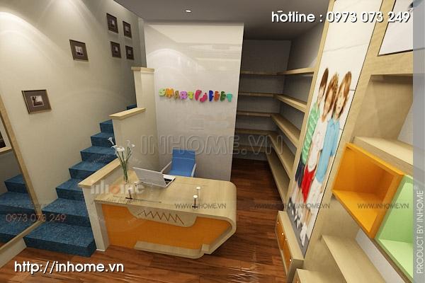 Thiết kế cửa hàng thời trang trẻ em 03