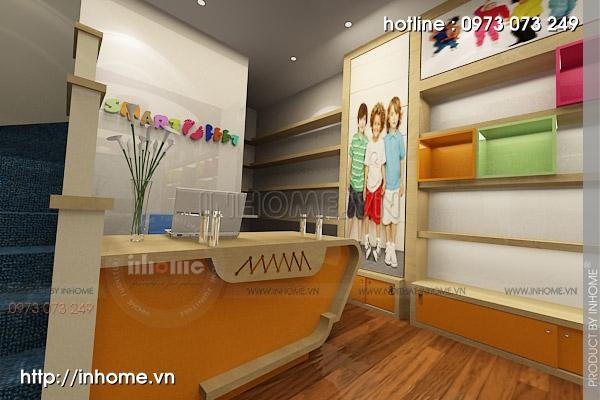 Thiết kế cửa hàng thời trang trẻ em 05