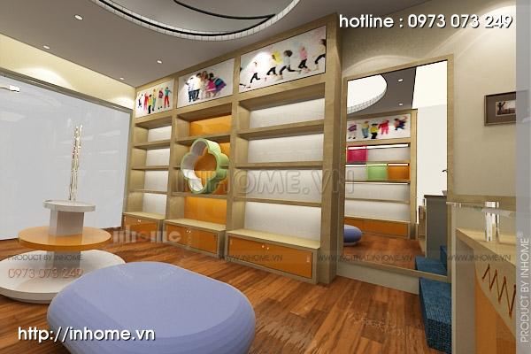 Thiết kế cửa hàng thời trang trẻ em 06