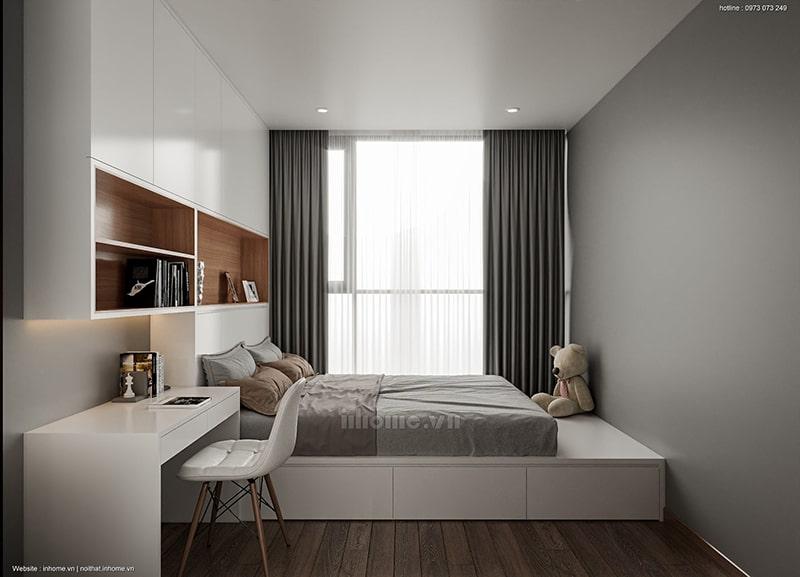 Thiết kế phòng ngủ hướng chọn ánh sáng thiên nhiên