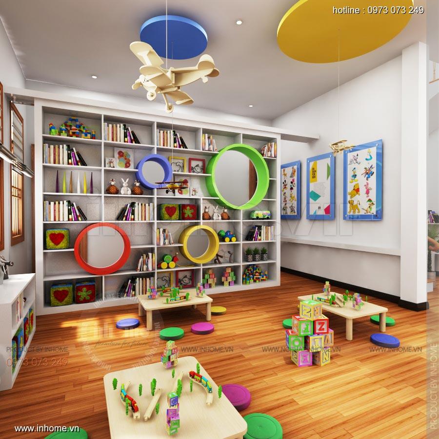Thiết kế nội thất trường mầm non Ngôi Sao - TP Nam Định 8