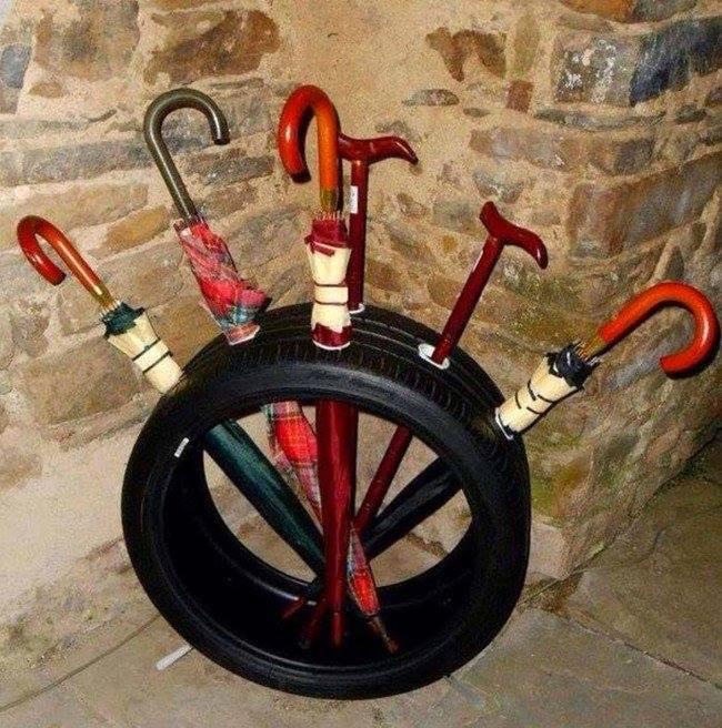Sáng tạo tuyệt đối với ý tưởng hô biến lốp xe cũ 14