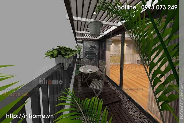 Thiết kế nội thất chung cư Láng Hạ 11