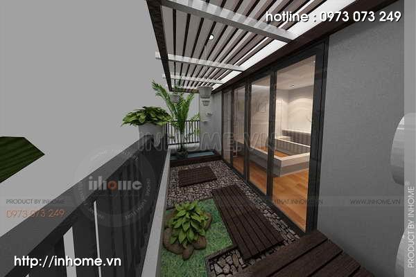 Thiết kế nội thất chung cư Láng Hạ 12