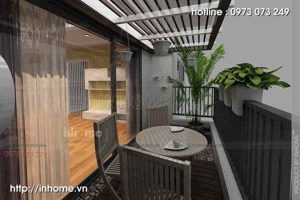 Thiết kế nội thất chung cư Láng Hạ 13