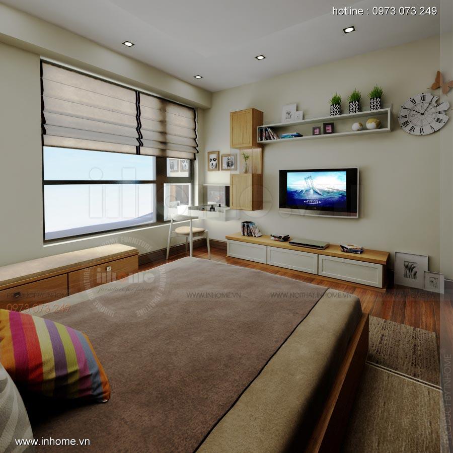 Thiết kế nội thất căn hộ Times City