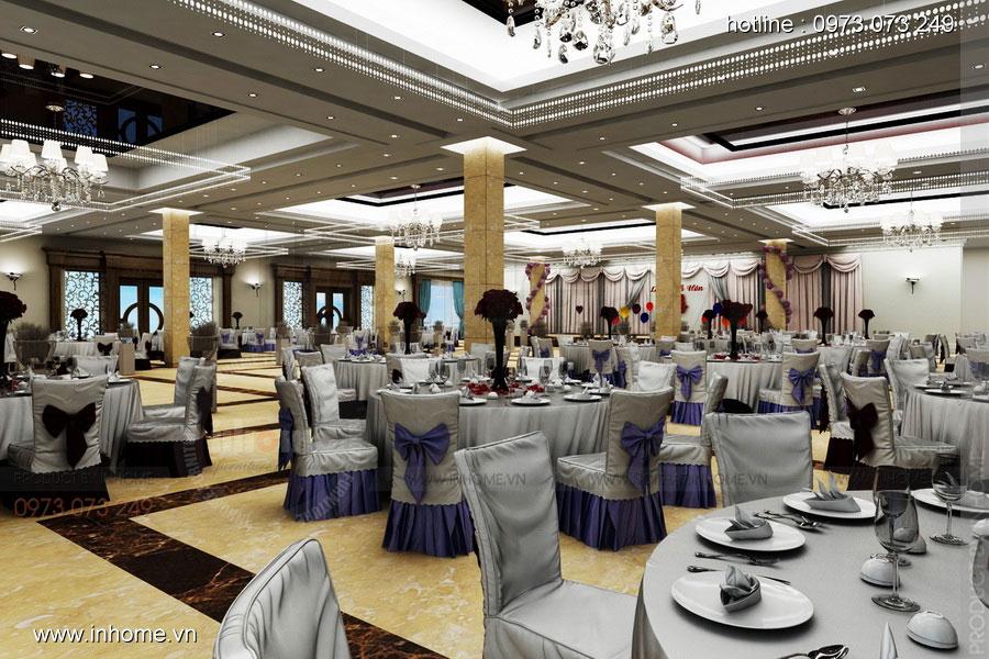 Thiết kế nội thất khách sạn LIBERTY Quảng Bình Hotel - Phòng tiệc cưới