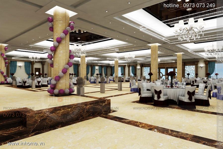 Thiết kế nội thất khách sạn LIBERTY Quảng Bình Hotel 02