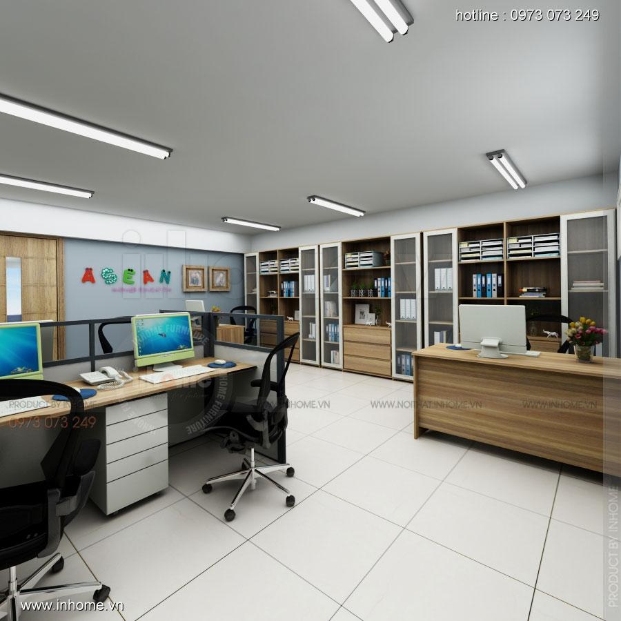 Thiết kế nội thất trường mầm non Asean 15