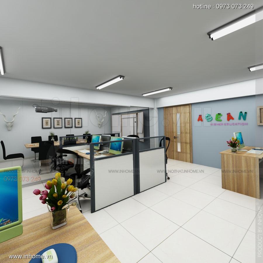 Thiết kế nội thất trường mầm non Asean 17