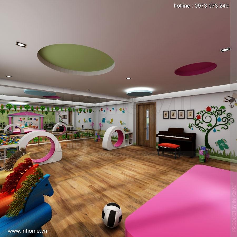 Thiết kế nội thất trường mầm non Asean 04