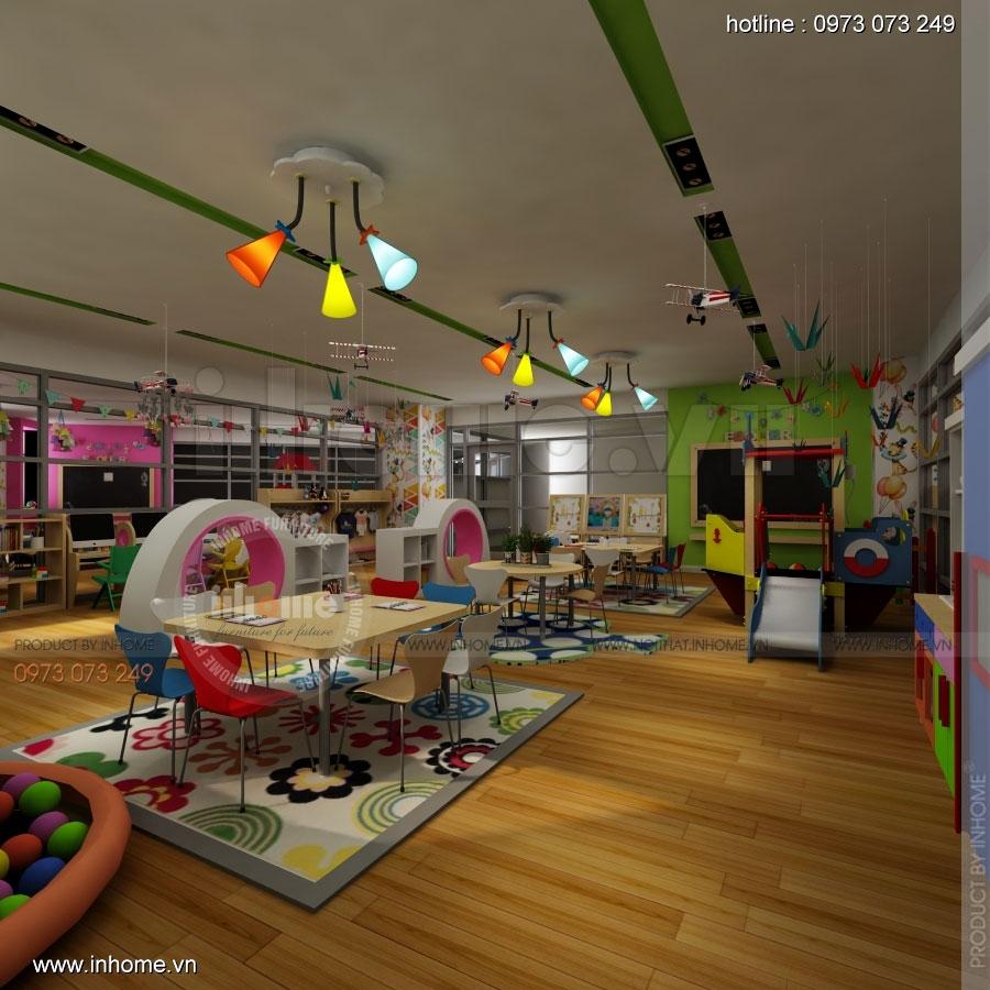 Thiết kế nội thất trường mầm non CIK - Canadian International Kindergarten 11