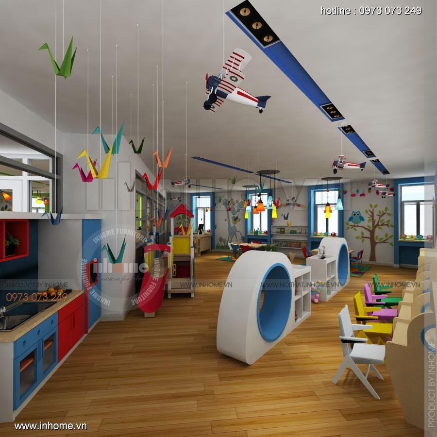 Thiết kế nội thất trường mầm non CIK - Canadian International Kindergarten