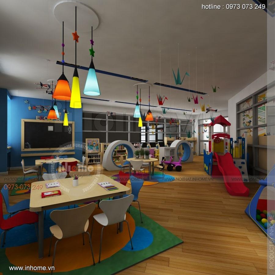 Thiết kế nội thất trường mầm non CIK - Canadian International Kindergarten 02