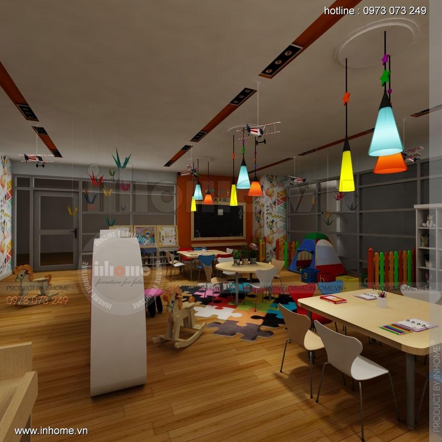Thiết kế nội thất trường mầm non CIK - Canadian International Kindergarten 04