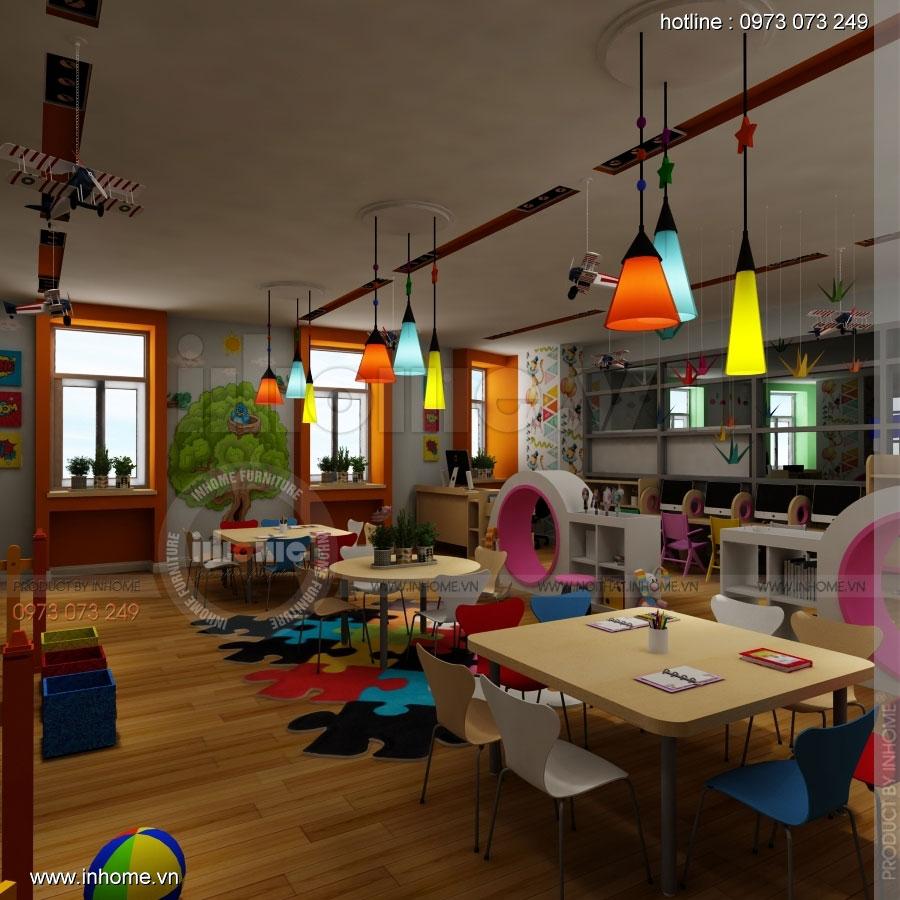 Thiết kế nội thất trường mầm non CIK - Canadian International Kindergarten 05