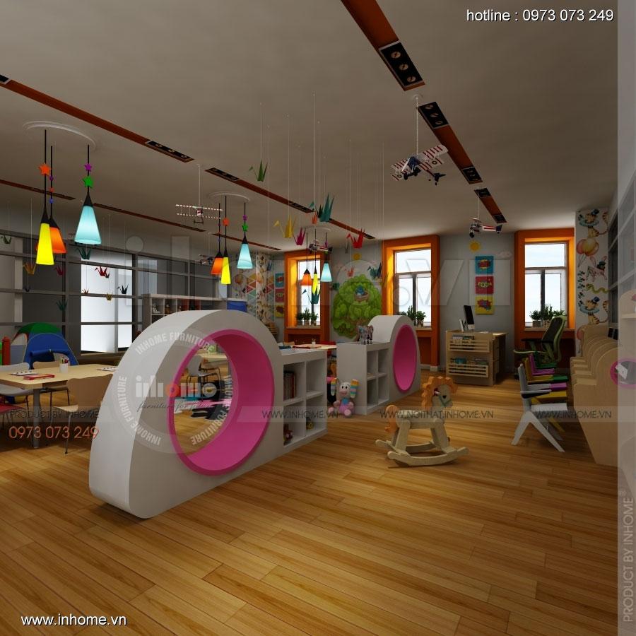 Thiết kế nội thất trường mầm non CIK - Canadian International Kindergarten 06