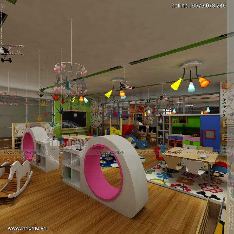 Thiết kế nội thất trường mầm non CIK - Canadian International Kindergarten 08