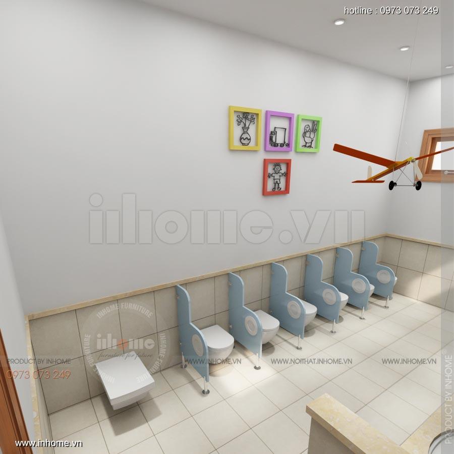 Thiết kế nội thất trường mầm non Ngôi Sao - TP Nam Định 1