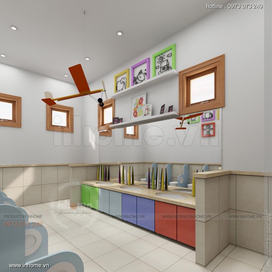 Thiết kế nội thất trường mầm non Ngôi Sao - TP Nam Định 4