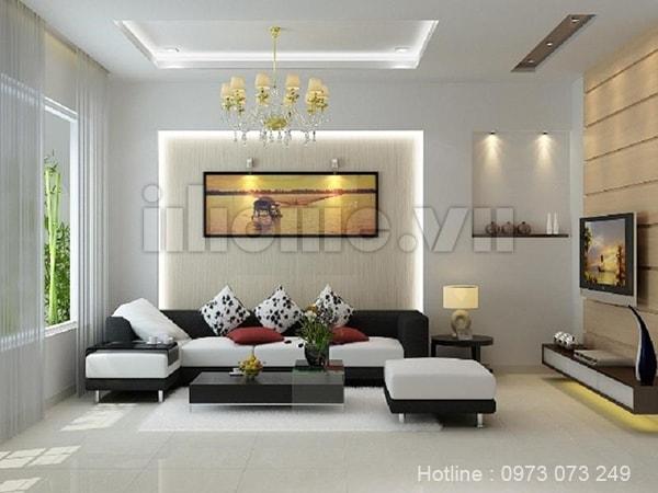 Phong cách thiết kế nội thất hiện đại làm bừng sáng không gian gia đình