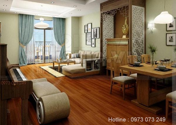 Thiết kế nội thất chung cư Times City cao cấp cho không gian sống tiện nghi