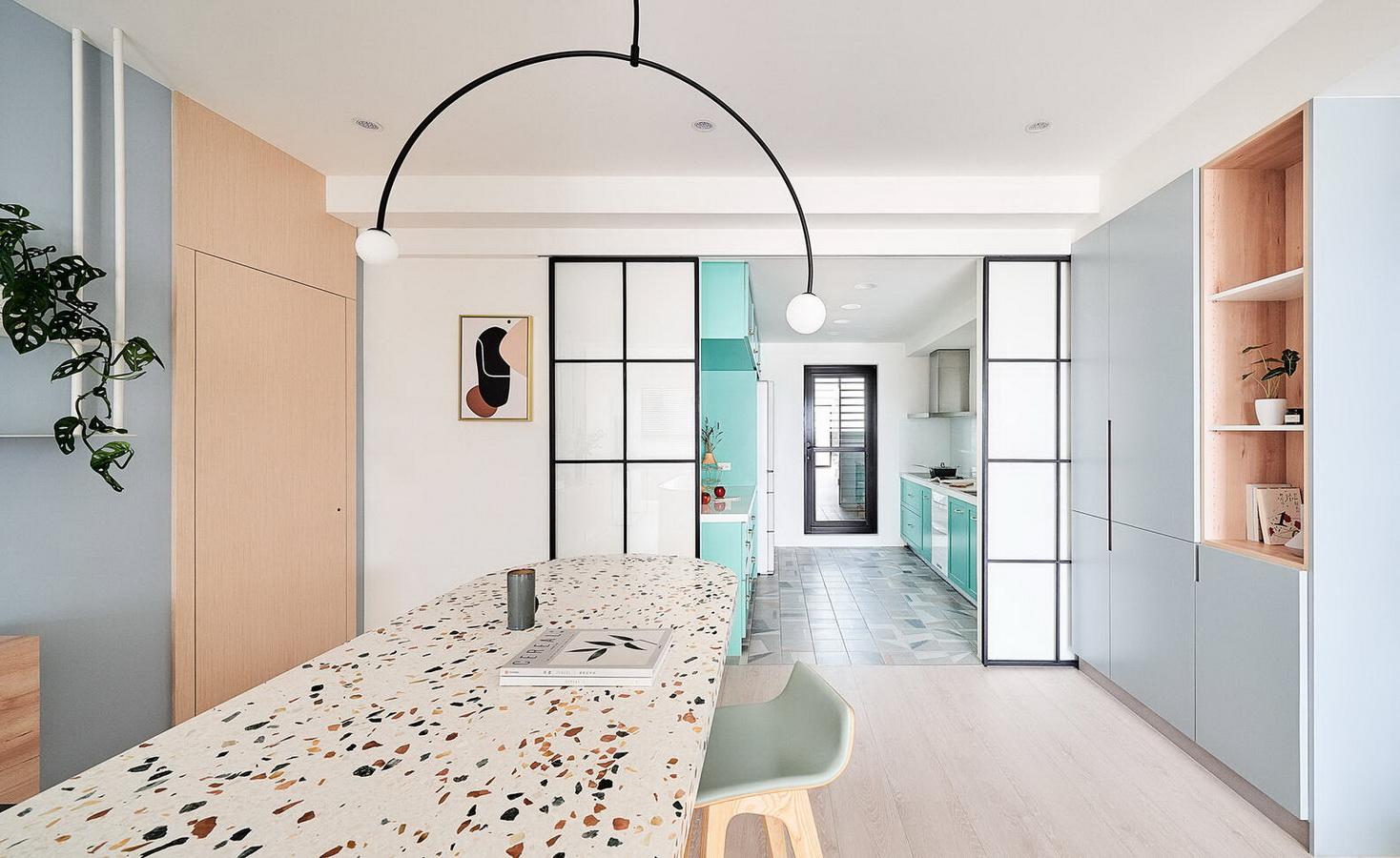 NeOn Apartment - Căn hộ tràn ngập niềm vui nhờ những gam màu tươi sáng, dễ thương