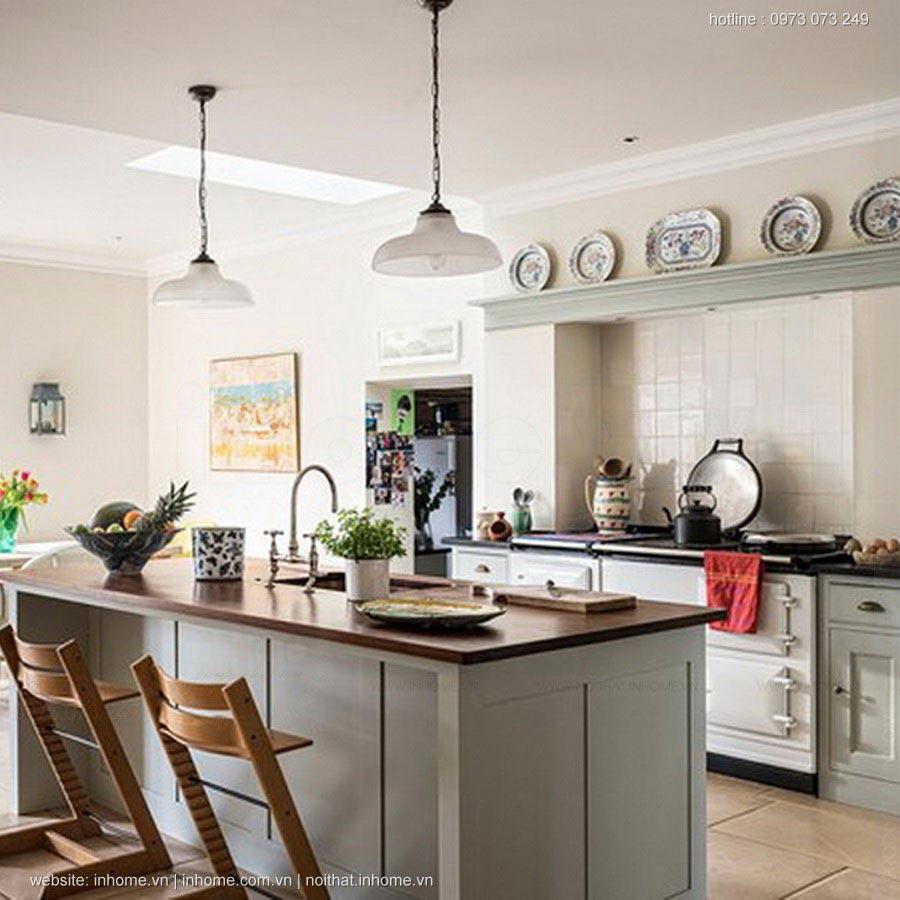 400+ mẫu thiết kế bếp đẹp hiện đại phong cách Châu Âu