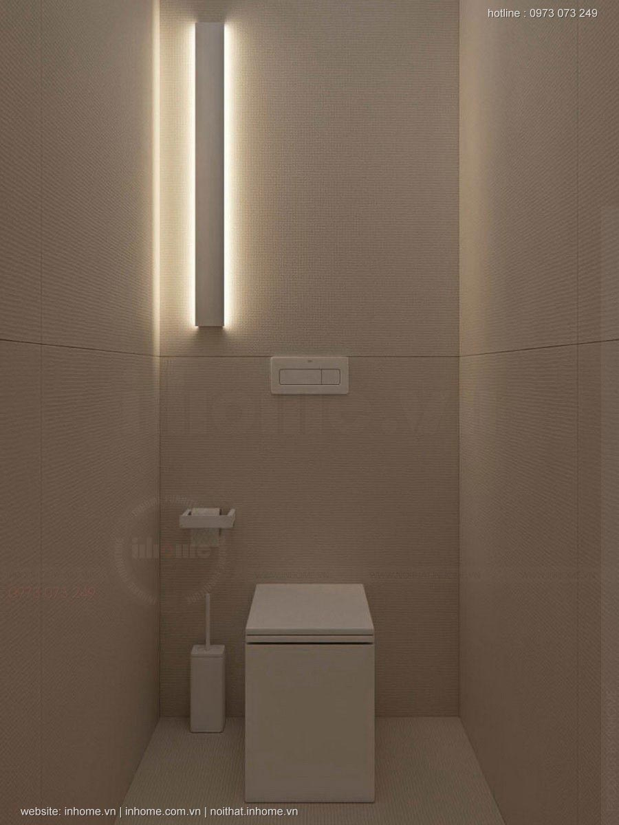 Mẫu thiết kế nhà ống 2 tầng 3 phòng ngủ đẹp hiện đại đơn giản