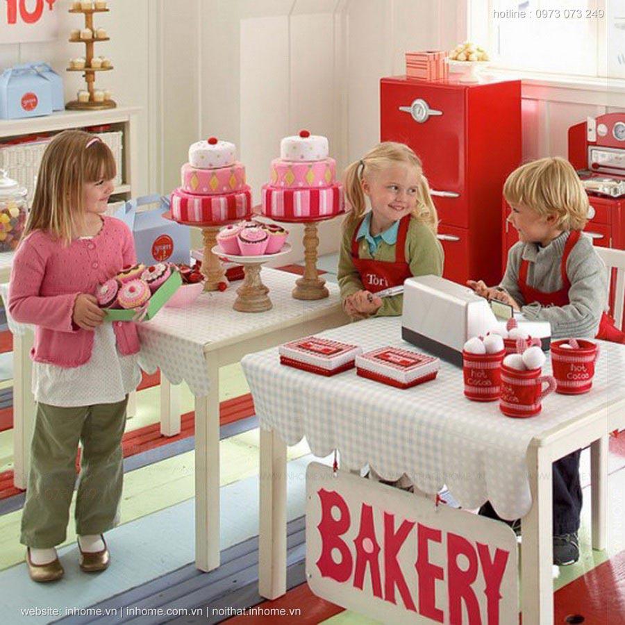 Gợi ý thiết kế phòng chơi trẻ em khiến bé yêu ở hoài không chán