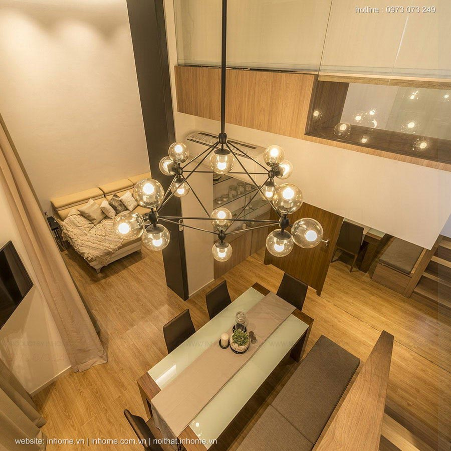 Thiết kế nội thất chung cư Đặng Xá