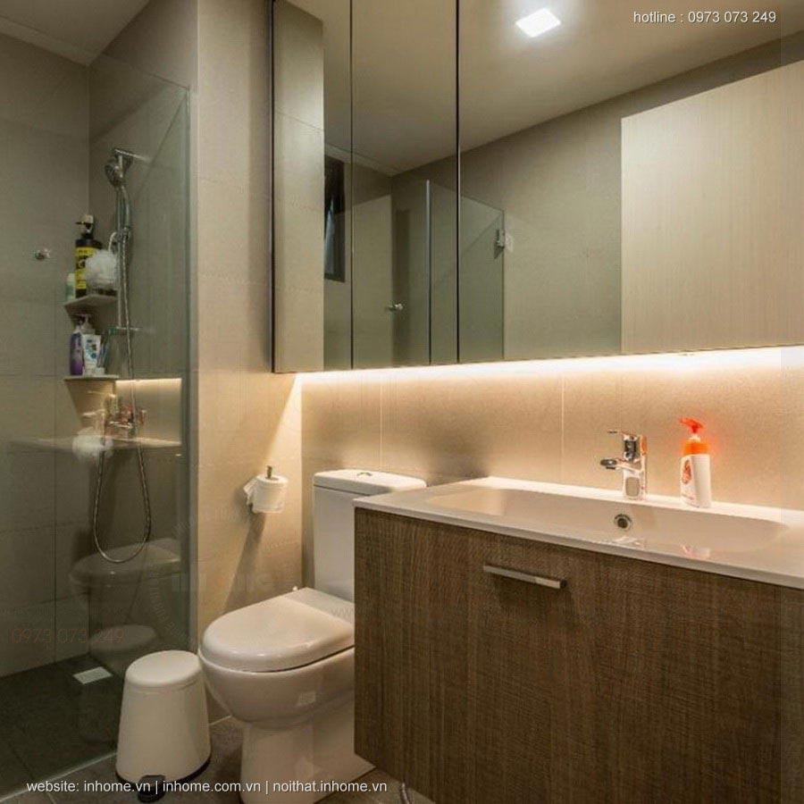 Thiết kế nội thất căn hộ chung cư Royal City