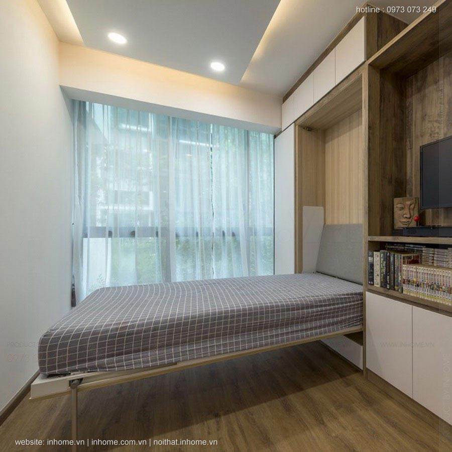 Thiết kế nội thất chung cư CT1 Trung Văn