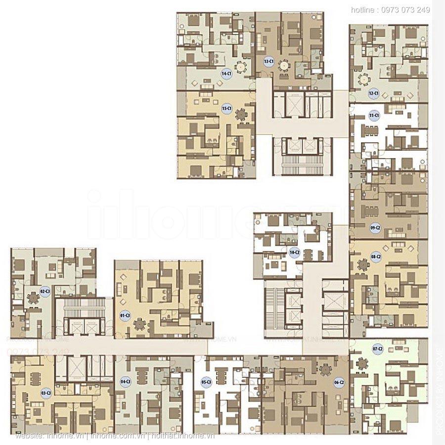 Thiết kế nội thất chung cư Dolphin Plaza