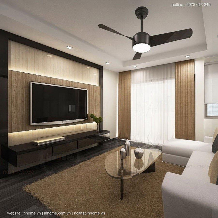 Thiết kế nội thất chung cư Golden Place