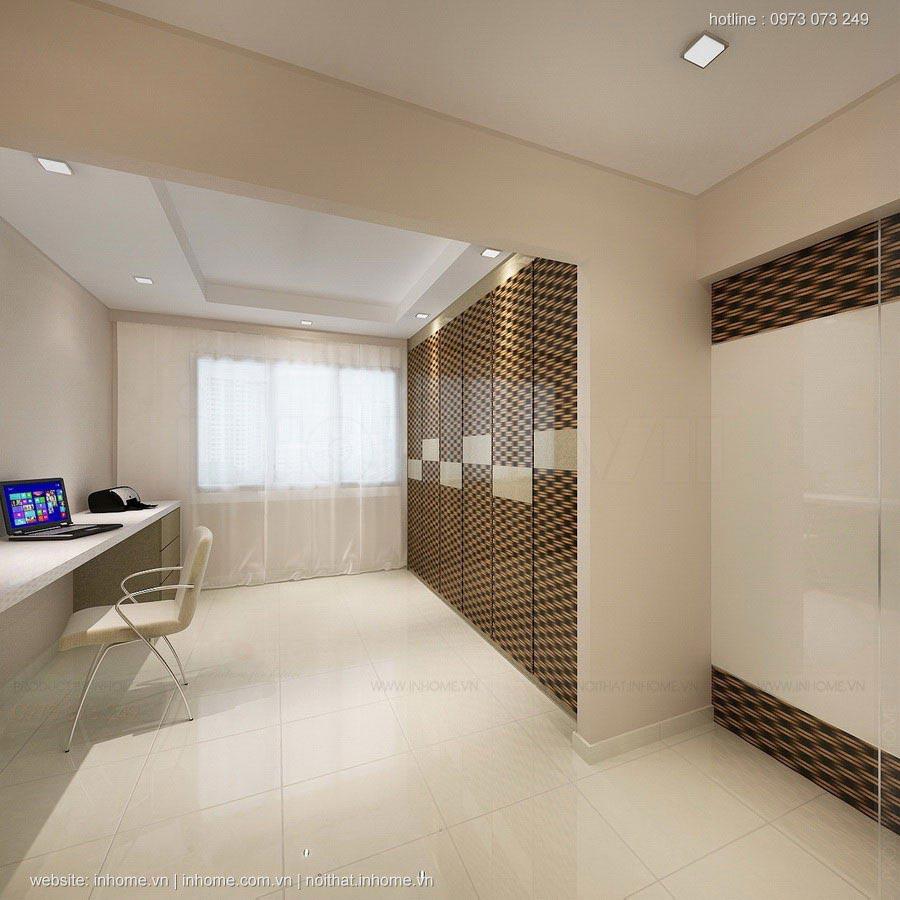 Thiết kế nội thất chung cư hh3 linh đàm