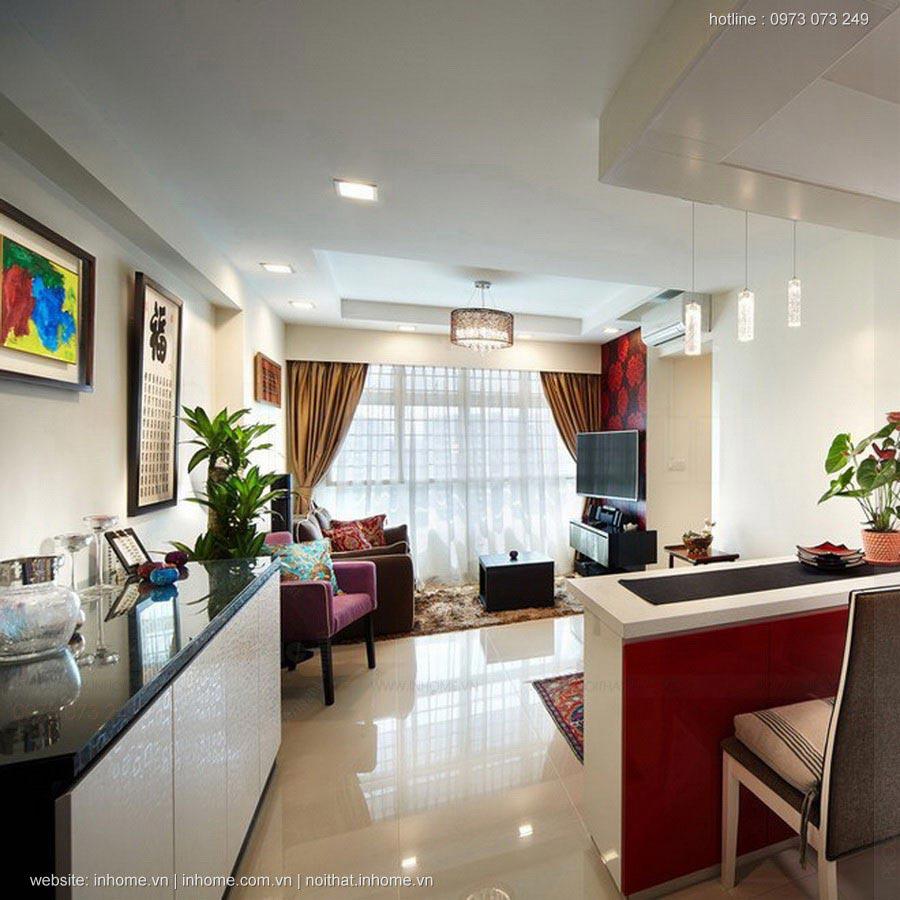 Thiết kế nội thất chung cư RESCO Cổ Nhuế