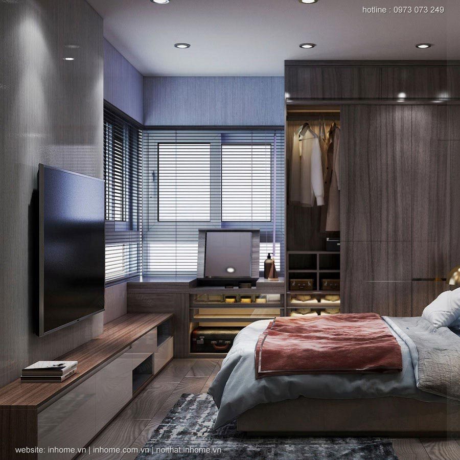 Thiết kế nội thất chung cư Sunrise Building