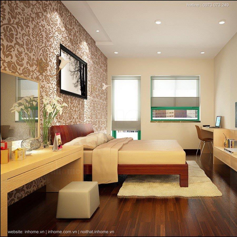 Thiết kế nội thất chung cư Vp6 Linh Đàm