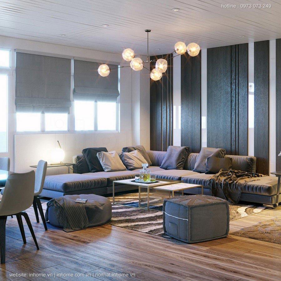 Thiết kế nội thất sang trọng và tiện nghi tại Ukrain
