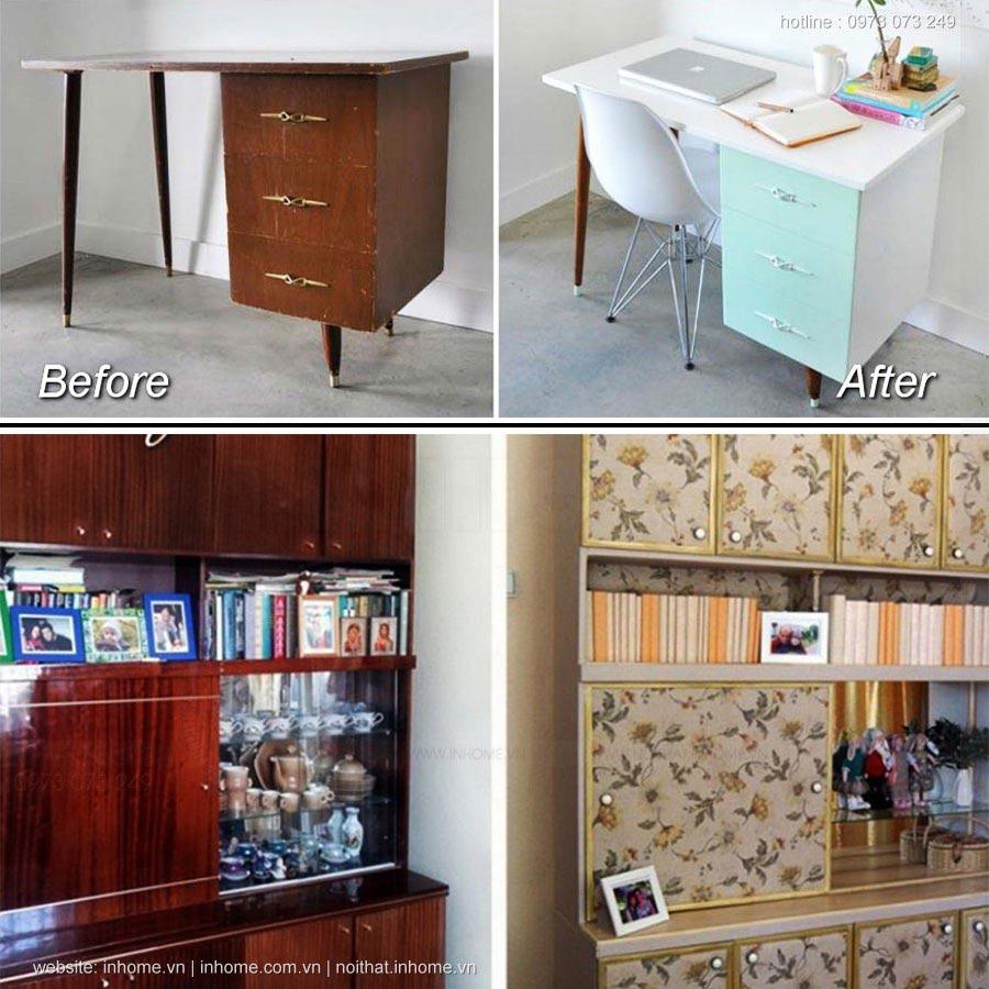 Biến tủ cũ thành mới