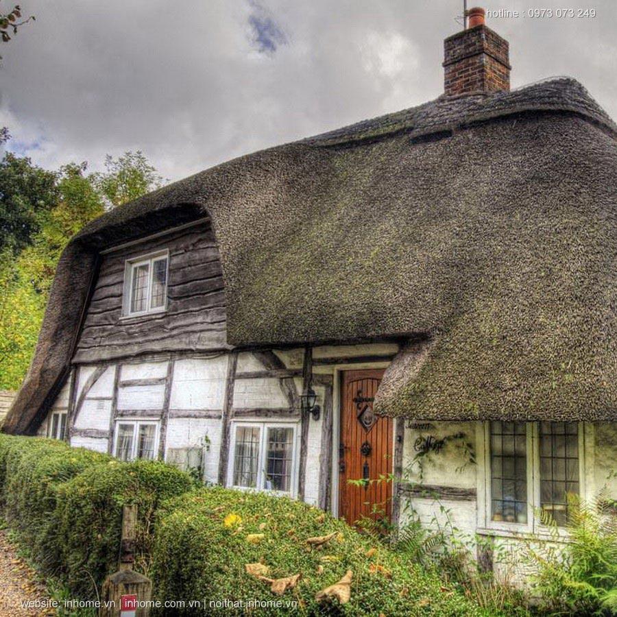 Những mái nhà tranh thơ mộng ở Vương Quốc Anh
