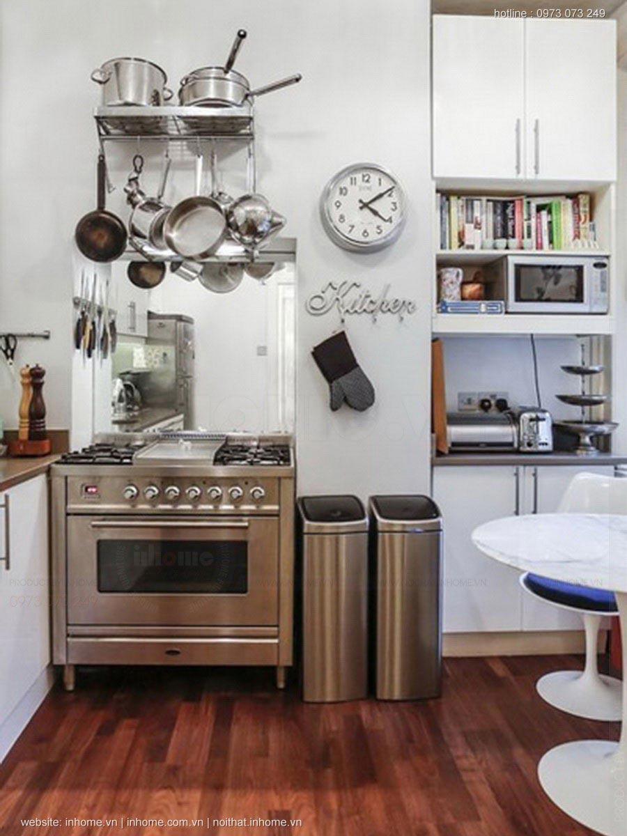 Thiết kế đẹp cho phòng bếp nhỏ