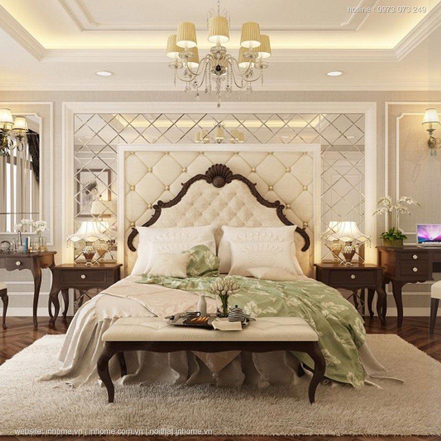Thiết kế phòng ngủ lộng lẫy